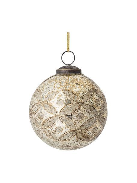 Bola de Navidad Kami Ø10 cm, Beige, Ø 10 cm