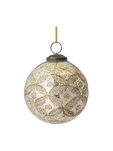 Kerstbal Kami Ø 10 cm, Beige, Ø 10 cm