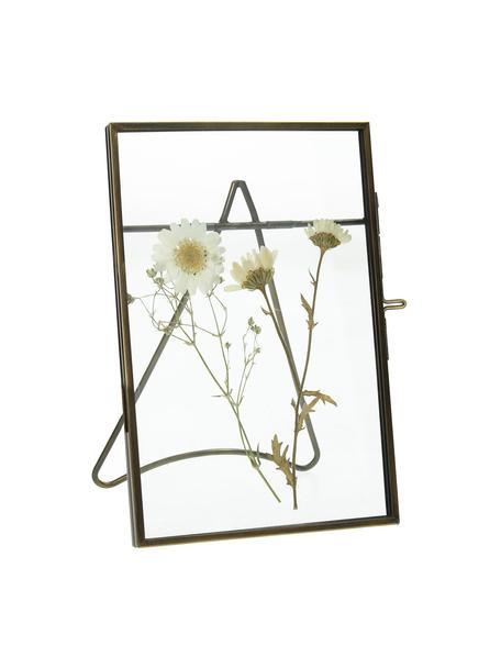 Fotolijstje Dried Flower, Gecoat metaal, Messingkleurig, 10 x 15 cm