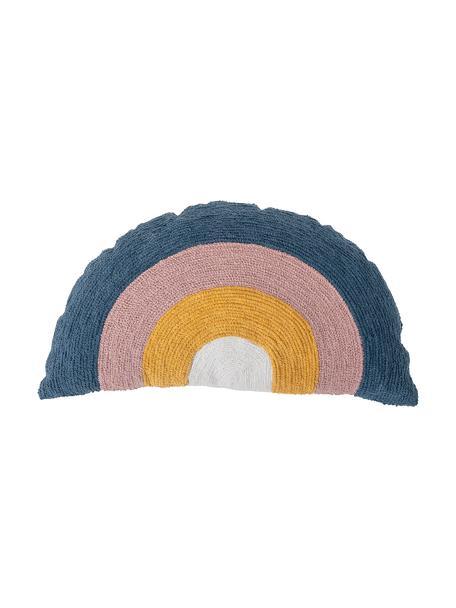 Kussen Rainbow, met vulling, Wit, geel, blauw, roze, 70 x 40 cm
