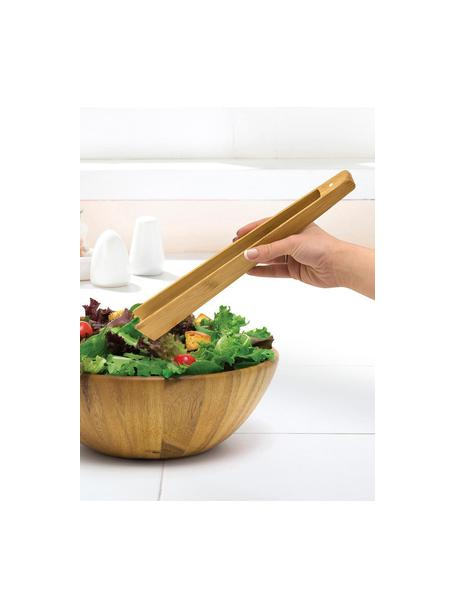 Pinzas de cocina Juno, Bambú, Marrón, An 5 x Al 30 cm