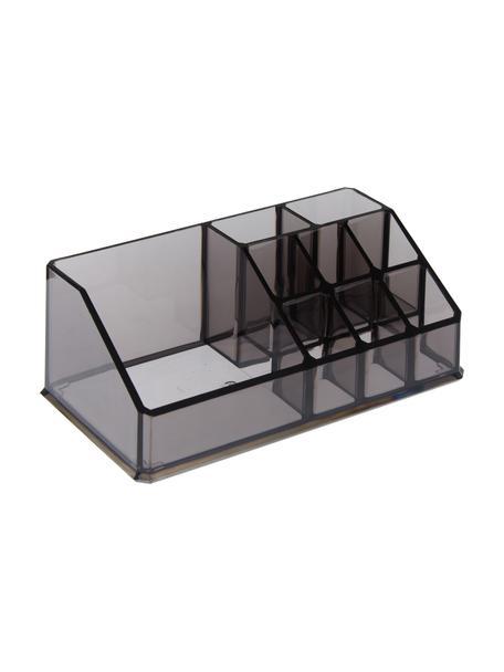 Organizador de baño Valerie, Plástico, Gris, An 17 x Al 7 cm