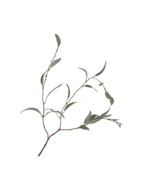 Kunst-Olivenzweig, Grün, Kunststoff, Metalldraht, Grün, Braun, L 96 cm