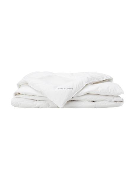 Daunen-Bettdecke Clima Balance, extra leicht, Hülle: Feinste Mako-Einschütte a, Weiß, 200 x 200 cm
