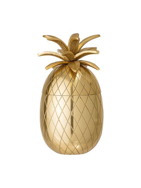 Cubitera pequeña Pineapple, Aluminio, Dorado, Ø 13 x Al 24 cm