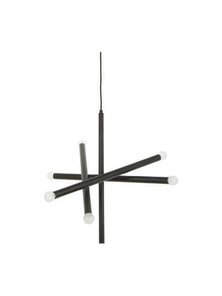 Design Pendelleuchte Sticks, Baldachin: Metall, pulverbeschichtet, Vermessingt, Ø 60 cm