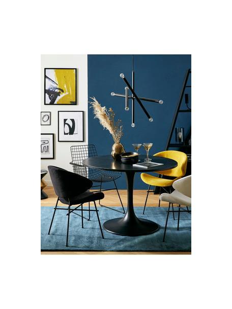 Lámpara de techo de diseño Sticks, Anclaje: metal con pintura en polv, Estructura: metal con pintura en polv, Cable: plástico, Latón, Ø 60 cm