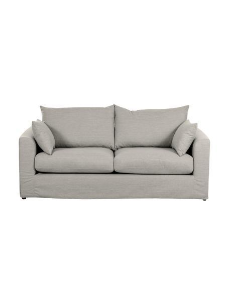 Sofa Zach (2-Sitzer) in Taupe, Bezug: Polypropylen Der hochwert, Webstoff Zach, B 191 x T 90 cm