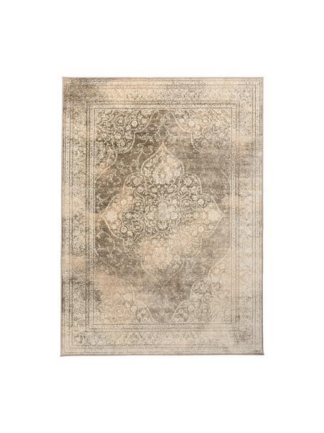 Tappeto vintage beige Rugged, Beige, marrone, Larg. 170 x Lung. 240 cm (taglia M)