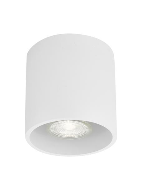 Foco Roda, Lámpara: aluminio recubierto, Blanco, Ø 10 x Al 10 cm