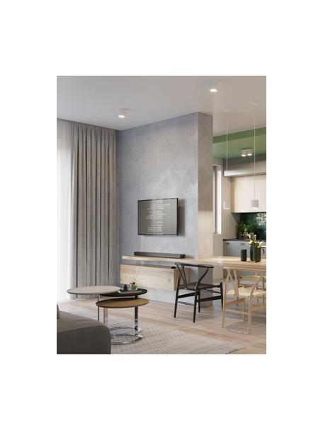 Plafondspot Roda in wit, Lamp: gecoat aluminium, Wit, Ø 10 x H 10 cm