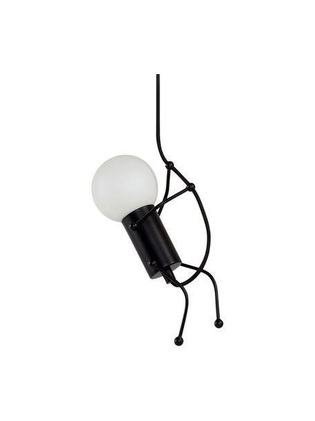Lampa wisząca Gubbe, Stelaż: metal powlekany, Czarny, S 8 x D 350 cm
