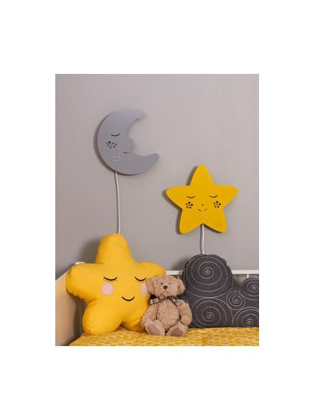 Aplique Star, Metal con pintura en polvo, Amarillo, An 30 x Al 29 cm