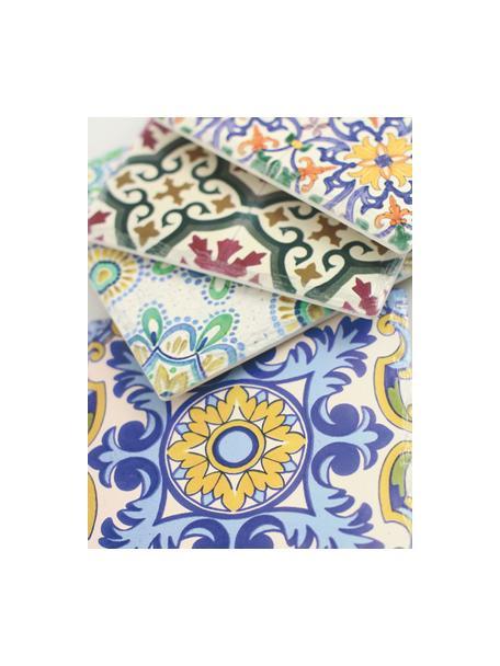 Set 4 sottopentola Deruta, Ceramica, sughero, Multicolore, Larg. 16 x Prof. 16 cm