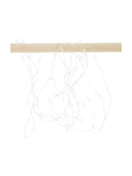 Ghirlanda a LED Stern, Materiale sintetico, Argentato, Lung. 495 cm