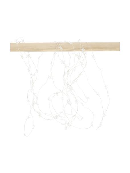 Guirnalda de luces LED Stern, Plástico, Plateado, L 495 cm