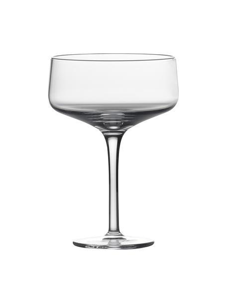 Champagneglazen Copa, 2 stuks, Kristalglas, Transparant, Ø 10 x H 14 cm