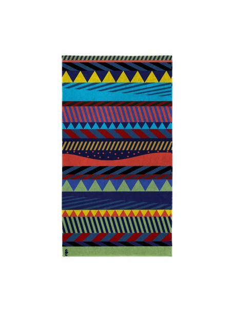 Toalla de playa estampada Capetown, Multicolor, An 100 x L 180 cm