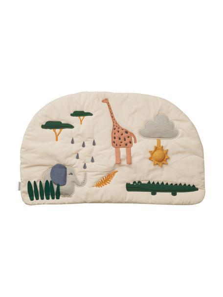 Spielmatte Sofie, Bezug: 100% Biobaumwolle, Öko-Te, Beige, Mehrfarbig, 40 x 65 cm