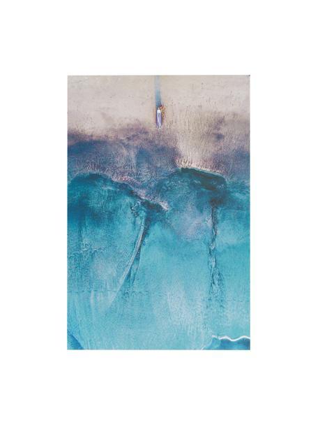 Digitaldruck auf Aluminium Ocean, Mehrfarbig, 60 x 90 cm