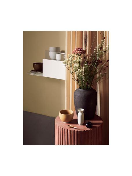 Mensola a muro color crema Svante, Acciaio verniciato, Crema, Larg. 53 x Alt. 22 cm