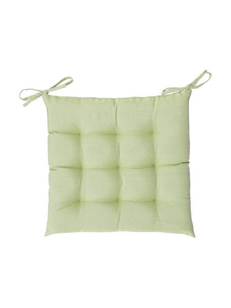 Wodoodporna poduszka na krzesło St. Maxime, Zielony, czarny, S 38 x D 38 cm