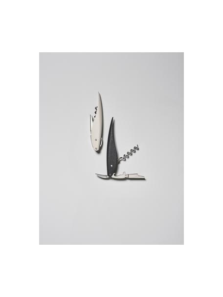 Cavatappi Rocks, Acciaio, materiale sintetico (ABS), Argento, grigio chiaro, Lung. 13 x Larg. 2 cm