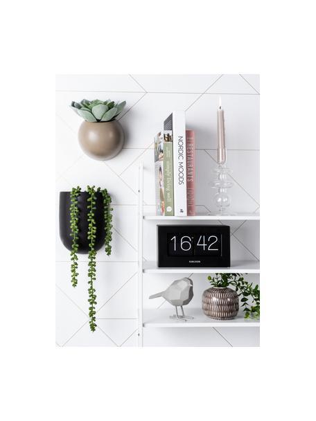 Figura decorativa Bird, Plástico, Gris, An 17 x Al 14 cm