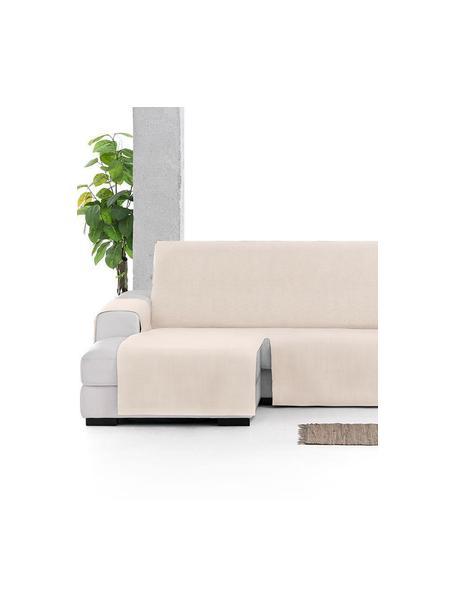 Funda de sofá Levante, 65%algodón, 35%poliéster, Beige, Brazo corto (150 x 240 cm