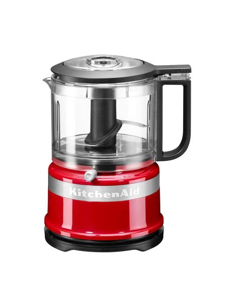 Food processor KitchenAid Mini, Rosso lucido, Larg. 18 x Alt. 22 cm