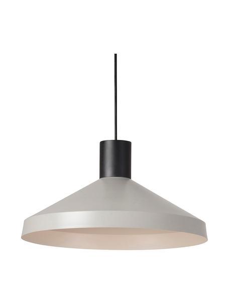 Lampa wisząca scandi Kombo, Szary, czarny, Ø 40 x W 21 cm