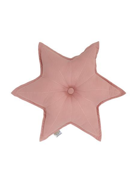 Cojín Golden de algodón ecológico Stars, con relleno, Exterior: 100% algodón orgánico, ce, Rosa palo, An 45 x L 45 cm