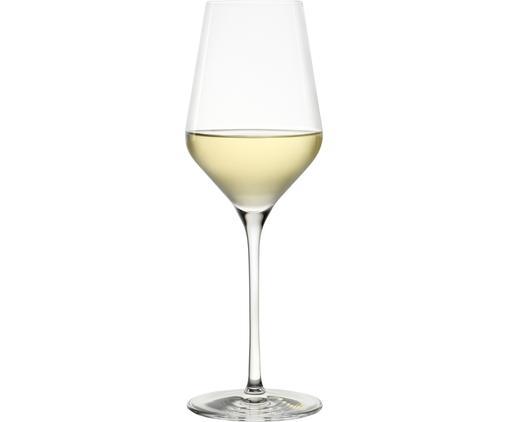 Kristall-Weißweingläser Quatrophil, 6 Stück