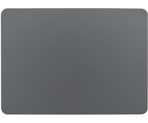 Kunstleder-Tischsets Pik, 2 Stück