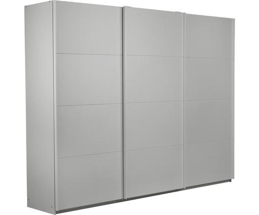 Kleiderschrank Mia mit 3 Schiebetüren in Grau