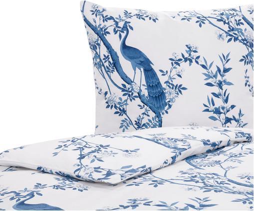 Baumwollperkal-Bettwäsche Annabelle mit floraler Zeichnung