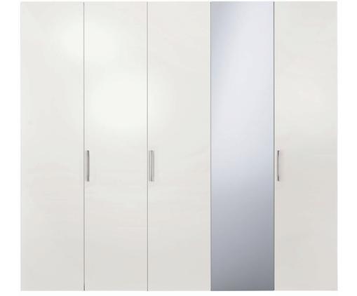 Kleiderschrank Madison 5-türig mit Spiegeltür, inkl. Montageservice