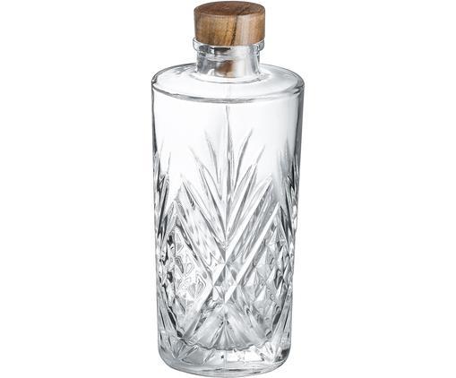 Glaskaraffe Eugene mit Kristallrelief, 900 ml