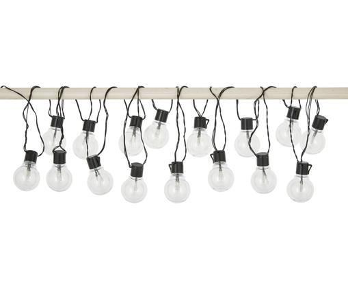 Outdoor LED-Lichterkette Partaj, 950 cm, 16 Lampions