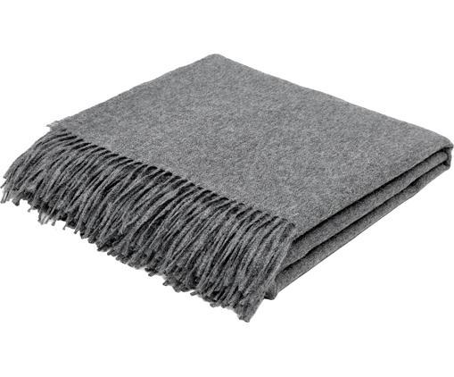 Leichte Babyalpaka-Decke Luxury in Grau