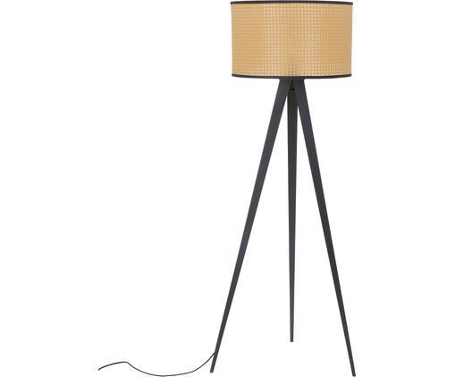 Tripod Stehlampe Vienna aus Wiener Geflecht