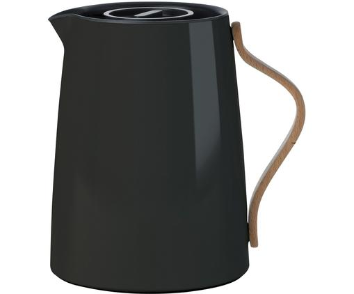Teezubereiter Emma in Schwarz glänzend, 1 L