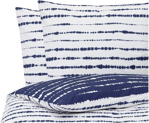 Perkal-Wendebettwäsche Remi aus Bio-Baumwolle mit Tie-Dye-Print