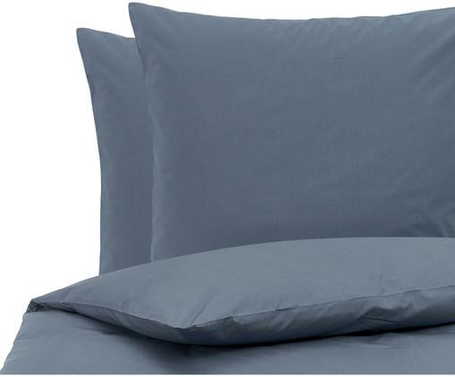Baumwollperkal-Bettwäsche Elsie in Blau