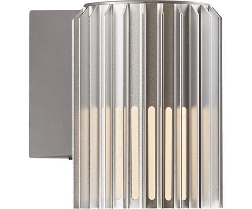 Außenwandleuchte Matrix in Silber