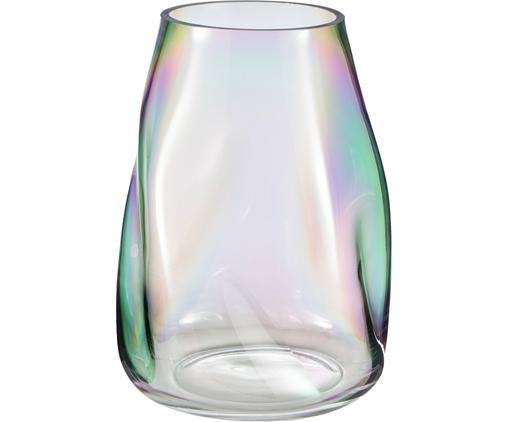 Mundgeblasene Glas-Vase Rainbow