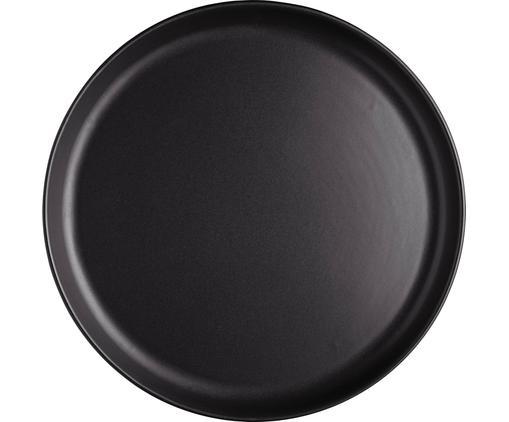 Speiseteller Nordic Kitchen in Schwarz matt, 4 Stück