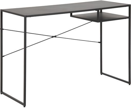 Metall-Schreibtisch Neptun in Schwarz
