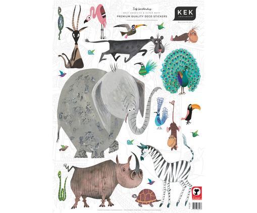 Wandaufkleber-Set Animals, 23-tlg.
