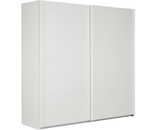 Kleiderschrank Mia mit 2 Schiebetüren in Weiß